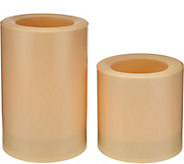Candle Impressions Set of 2 Solar Color Change Candle Set - M52915