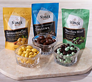 Sconza 12 Bags of Chocolate Nuts in Gift Boxes - M58115