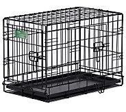 Pet Home I-Crate Double Door 30-Inch Dog Crate - M109516
