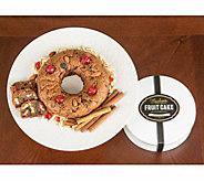 Marilyns Gourmet 2 lb Gluten-Free Fruit Cake in Gift Tin - M116516