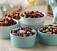 Germack (5) 9 oz. Spring Mini Jar Nut Assortment - M54216