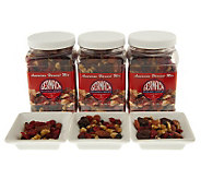 Germack (3) 17 oz. Jars American Harvest Nut & Fruit Mix - M24317