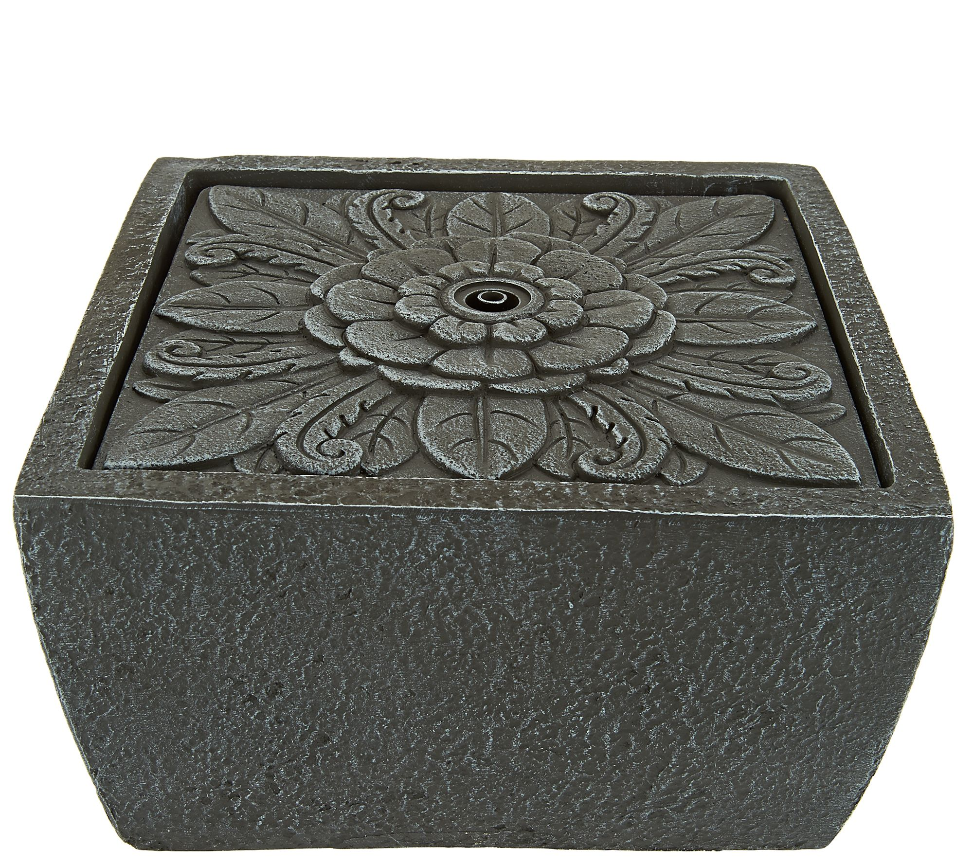 ED OnAir Tavolo Floral Sq. Tabletop Fountain Ellen DeGeneres