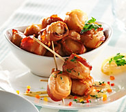 Graham & Rollins 2 lbs. of Bacon Wrapped Sea Scallops - M50617