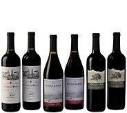 Royal Reds 6-Bottle Set by Vintage Wine Estates - M117018