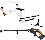 Worx Hydroshot 20V Cordless Power Cleaner with Accessories - M56218