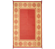 Medallion Border 8x11 Outdoo Mat by PatioMats - M51719