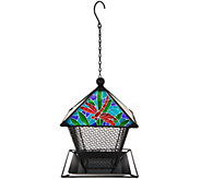 Mesh Panel Birdfeeder with Mosaic Design By Evergreen - M51819