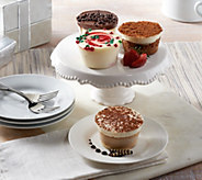 Ships 12/12 Juniors 18 Holiday Mini Cheesecakes Auto-Delivery - M53719