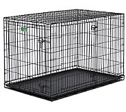 Pet Home I-Crate Double Door 42-Inch Dog Crate - M109520