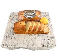 Marilyns Gourmet (2) 24 oz Gluten-Free Lemon Pound Cakes - M116520