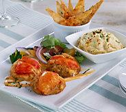 Ships 4/3 Graham & Rollins (10) 3 oz Lobster Crab Cakes & (2) Dip - M54420