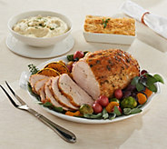 Martha Stewart 4.25 lb. Turkey Breast w/Butter &(2) 2 lb Sides Auto-Delivery - M56520