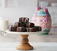 Davids Cookies Easter Cookie Jar with 12 1.5-oz Enrobed Brownies - M58120