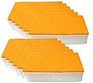 Don Asletts 12-Piece Scrub N Wipe Sponge Set - M114821