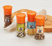 Rachael Ray Set of 4 Everyday Salt and Seasoning Grinders - M44321