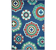Tommy Bahama Medallion 5x7 Indoor/Outdoor Rug - M52421