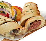 Leonettis (6) 12 oz. Philly or Ham and Cheese Stromboli Asmt. - M54521