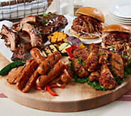 Corkys (4) 1lb Baby Back Ribs w/ 6lbs. Wings, Pork & Sausage Auto-Delivery - M55021