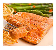 Kansas City Steak Company 4 (8-oz) Marinated King Salmon - M104022