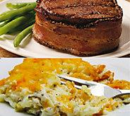 Kansas City (6) 6-oz Bacon Filets & Baked Potato Casserole - M116722