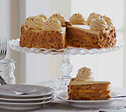 Sweet Endings 4 lb. 12 oz. Pumpkin Maple or Chunky Apple Layer Cake - M47622