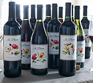 Vintage Wine Estates In Bloom 12-Bottle Wine Set - M50722
