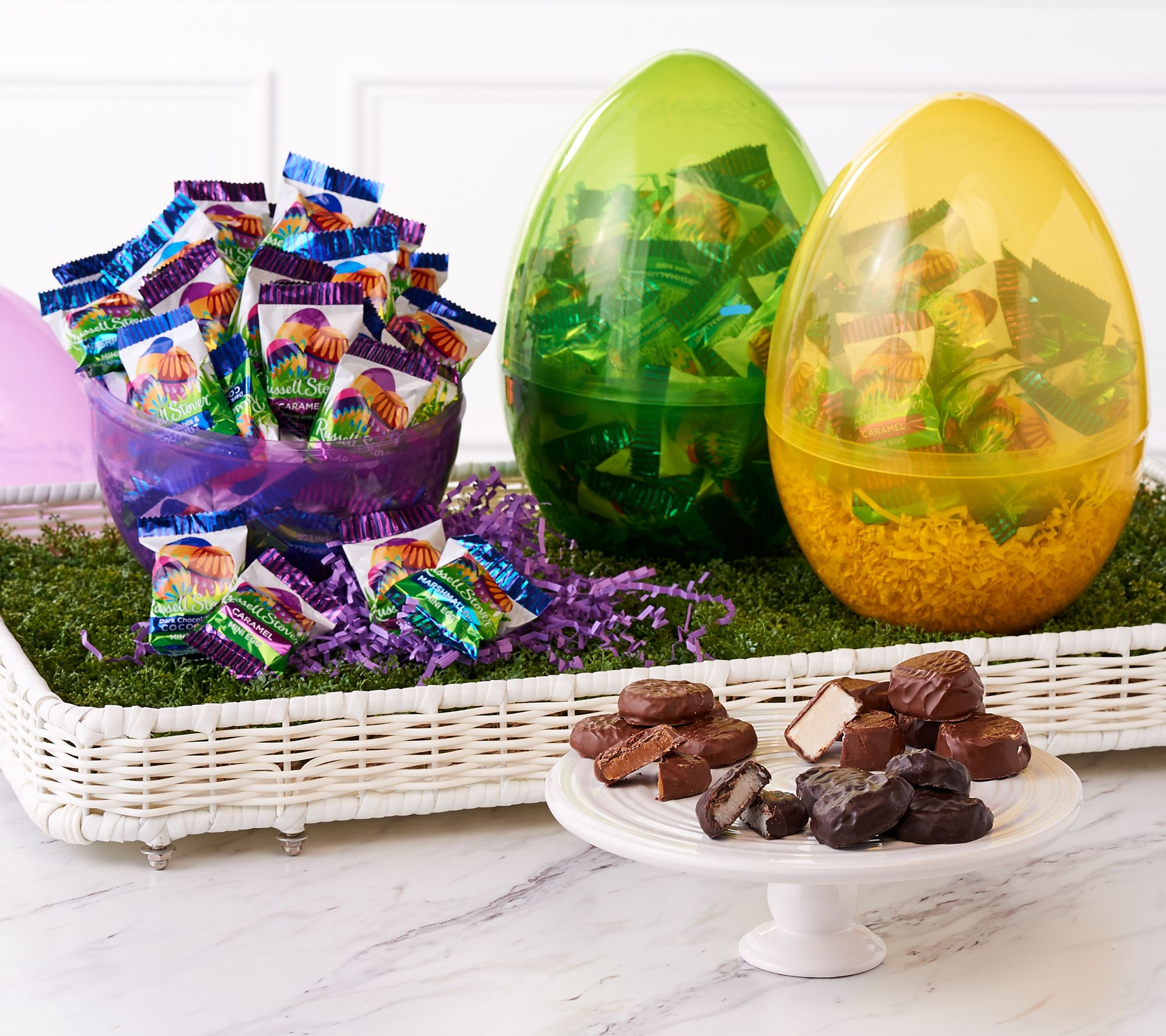 Ships 319 russell stover 3 24 oz filled easter egg assortment ships 319 russell stover 3 24 oz filled easter egg assortment qvc negle Image collections