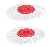 Fuller Brush Spin Mop Junior Replacement Heads- Set of 2 - M114623
