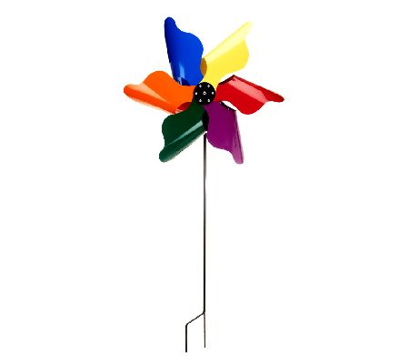 The Classic Pinwheel Kinetic Spinner by Whirligig World