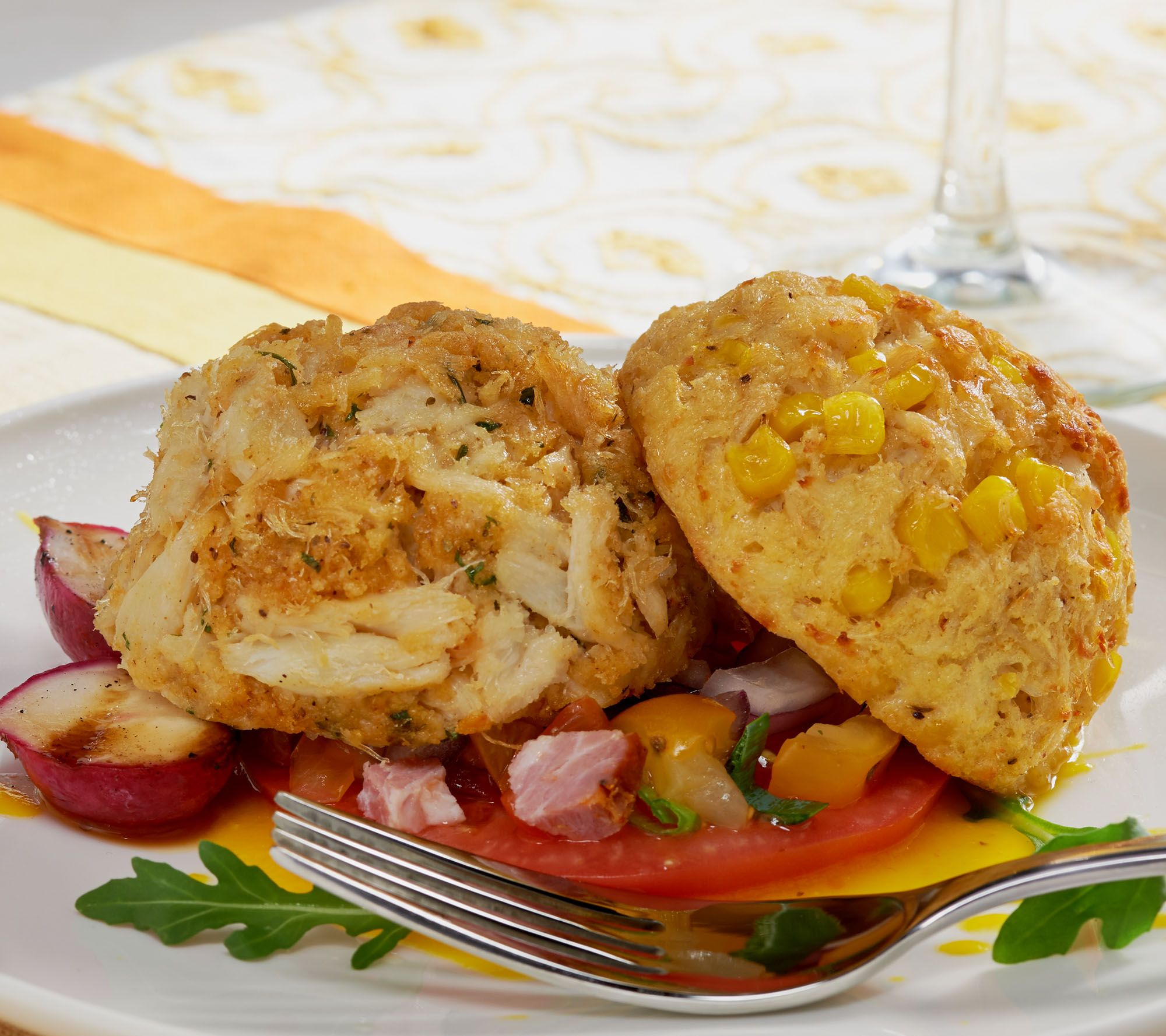 Great Gourmet (20) 4 oz. Eastern Shore Crab Cake - Page 1 — QVC.com