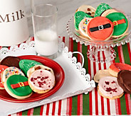 Ships 12/4 Cheryls 24 pc. Holiday Frosted Cookie Auto-Delivery - M55423