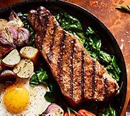 Kansas City Steak Company (4) 16-oz Kansas CityStrip Steaks - M116024