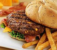 Kansas City Steak (16) 4.5-oz Cheddar Bacon Steakburgers - M116724