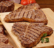 Kansas City Steak Co. (6) 18-oz Porterhouse Steaks - M34824