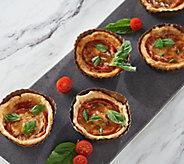 SH 11/6 Martha Stewart (8) 4.3 oz Tomato Tarts - M56524