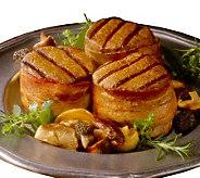Kansas City Steak Co. (10) 4oz. Bacon Wrapped Filet Mignon - M22525