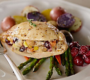 Stuffin Gourmet (16) 6oz. Cranberry Vegetable Stuffed Chicken - M48825