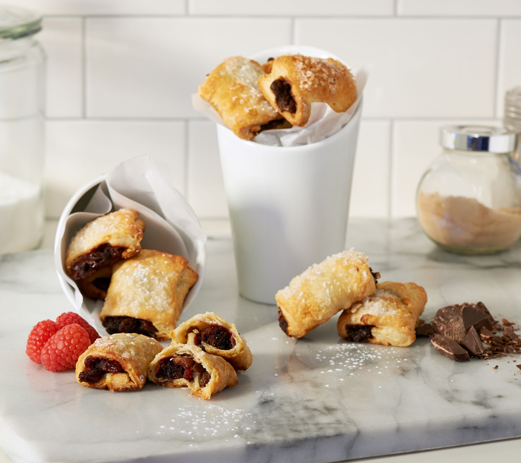 Zaro\'s Family Bakery (40) 1 oz. Rugelach Pastries - Page 1 — QVC.com