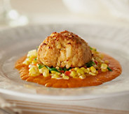 Seafood House (20) 3 oz. Cajun Style Crab Cakes - M52225