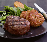 Kansas City Steak Co. (6) 6-oz Filets and (6) 3-oz Crab Cakes - M104026