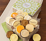 Cheryls Thank You Gift Tin - 16 Frosted Cookies - M115426