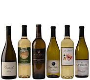White Wine Lovers Delight 6-Bottle Set by Vintage Wine Estates - M117026