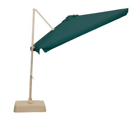southern patio square offset umbrella w tilt canopy base page 1