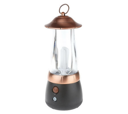 GE Battery Operated Fluorescent Outdoor Patio Lantern