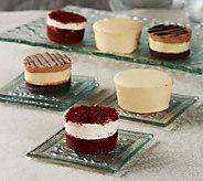 Juniors (18) Sugar Free Mini Layer Cake and Cheesecake Assortment - M44126