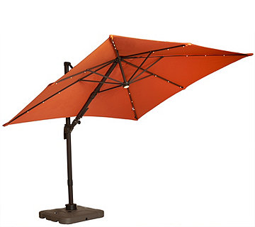 ATLeisure Multi-Tilt 8.5' Solar Offset Patio Umbrella - M46526