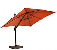ATLeisure Multi-Tilt 8.5 Solar Offset Patio Umbrella - M46526
