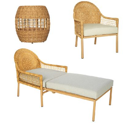 ED On Air Indoor Outdoor Woven Furniture Set By Ellen