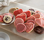 Cheryls 24-piece Valentines Day Frosted Cookie Assortment - M50226